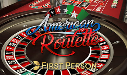 First Person American Roulette logo big