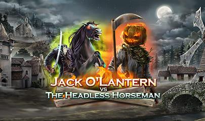 Jack O' Lantern vs The Headless Horseman logo big