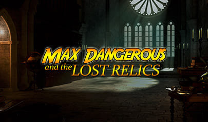 Max Dangerous and the Lost Relics logo big