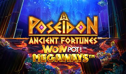Ancient Fortunes Poseidon™ WowPot! MEGAWAYS™ logo big