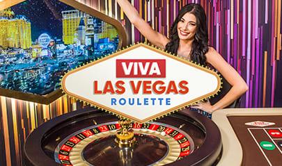 Authentic Gaming Viva Las Vegas Roulette logo big