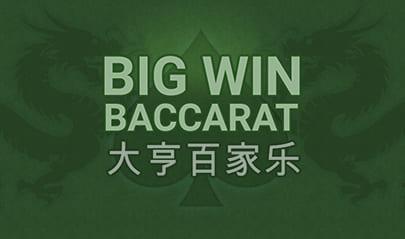 Big Win Baccarat logo big
