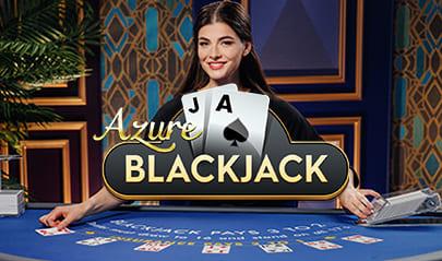 Pragmatic Play Blackjack Azure logo big