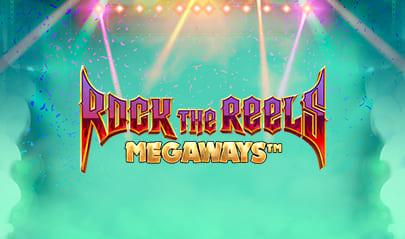 Rock the Reels Megaways logo big