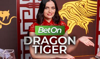 Bet on Dragon Tiger logo big