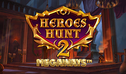 Heroes Hunt 2 Megaways logo big