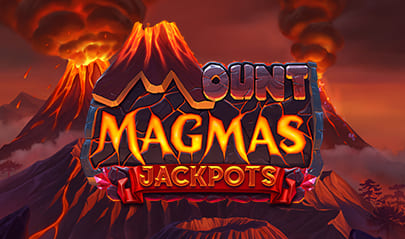 Mount Magmas Jackpots logo big