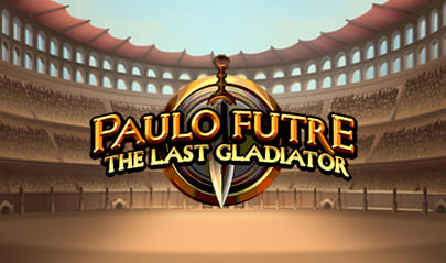 Paulo Futre The Last Gladiator logo big